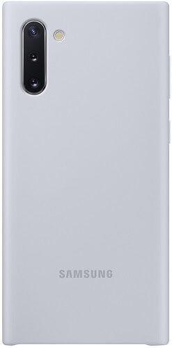 Samsung Silicone Cover pre Samsung Galaxy Note10, biela