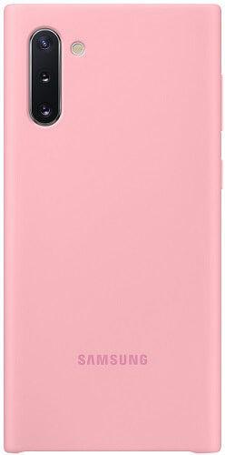 Samsung Silicone Cover pre Samsung Galaxy Note10, ružová