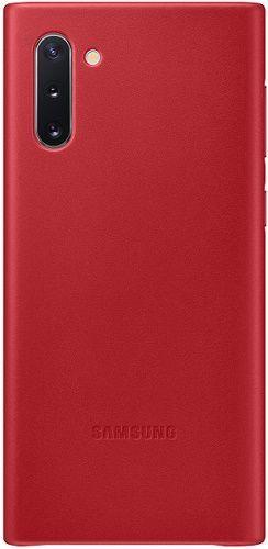 Samsung Leather Cover pre Samsung Galaxy Note10, červená