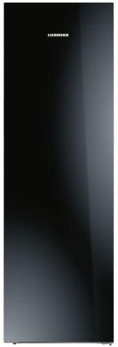 Liebherr KBPgb 4354, jednodverová chladnička strieborná s čiernym sklom