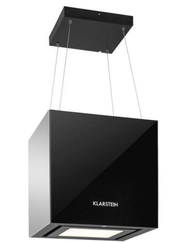 KLARSTEIN Kronleuchter BLK, čierny priestorový digestor