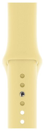 Apple Watch 40 mm športový remienok S/M a M/L, krémovo citrónový