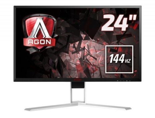 AOC ag241qx (čierno-strieborný) - monitor