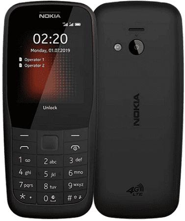 Nokia 220 DS 4G čierny