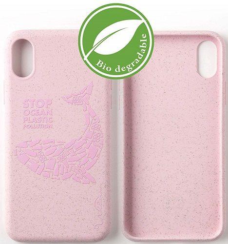 Wilma Matte Manta Eco puzdro pre Apple iPhone X/Xs, ružová