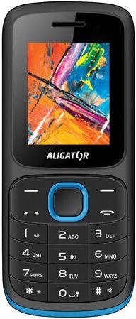 Aligator D210 čierno-modrý