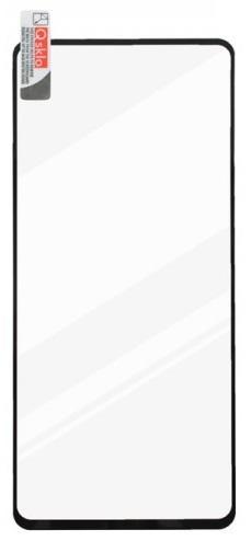 Qsklo 2,5D tvrdené sklo pre Samsung Galaxy A71, čierna