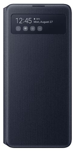 Samsung S View Wallet Cover pre Samsung Galaxy Note10 Lite, čierna