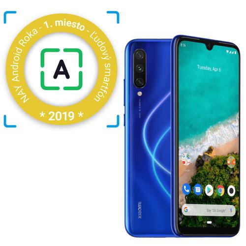 Xiaomi-Mi-A3-modrý