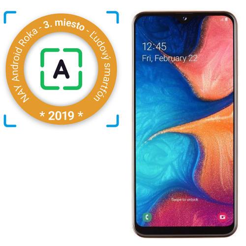 Samsung-Galaxy-A20e-oranžový