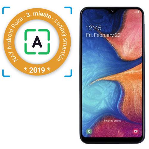Samsung-Galaxy-A20e-modrý