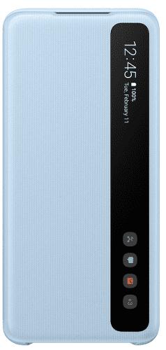 Samsung Clear View Cover puzdro pre Samsung Galaxy S20, modrá