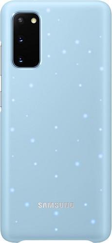 Samsung LED Cover puzdro pre Samsung Galaxy S20, modrá
