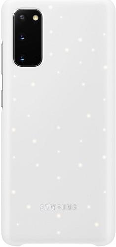 Samsung LED Cover puzdro pre Samsung Galaxy S20, biela