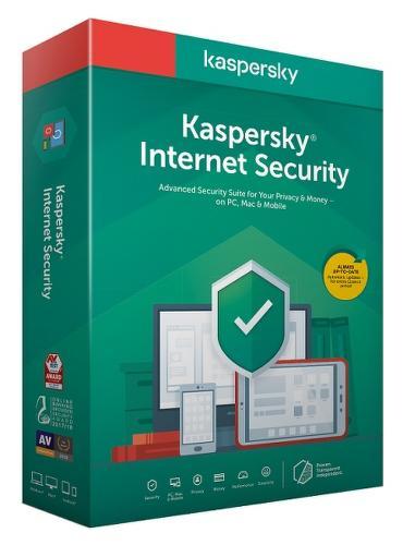 Kaspersky Internet Security 2020 Nová Box 3Z/1R