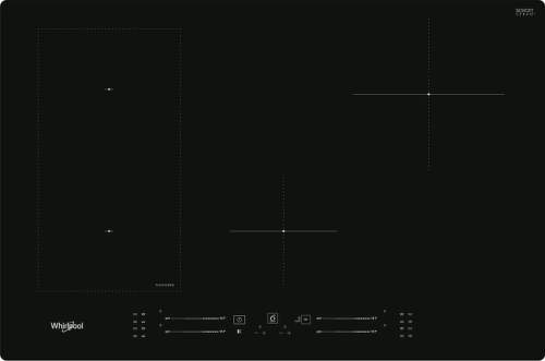 WHIRLPOOL WL S3777 NE, čierna indukčná varná doska (3)