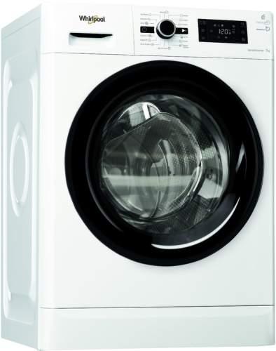 WHIRLPOOL FWG71283BV EE, biela práčka plnlená spredu