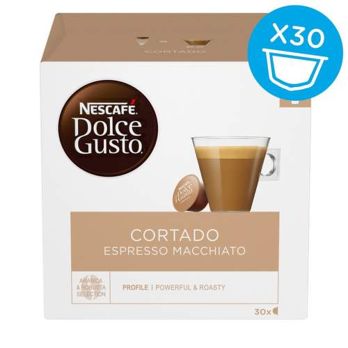Nescafé Dolce Gusto Cortado kávové kapsle 30 ks