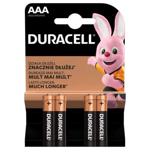 DURACELL BASIC 2400K4 AAA 4 ks