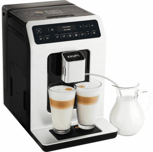 Krups EA890C10 Evidence - automatické espresso brúsený hliník