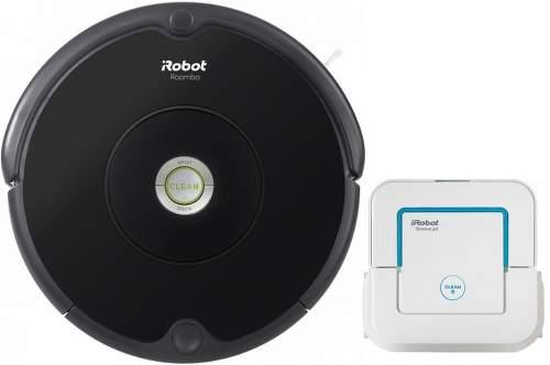 iRobot Roomba 606 a iRobot Braava jet 250.1