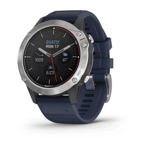 Garmin Quatix 6 Športové hodinky modrá