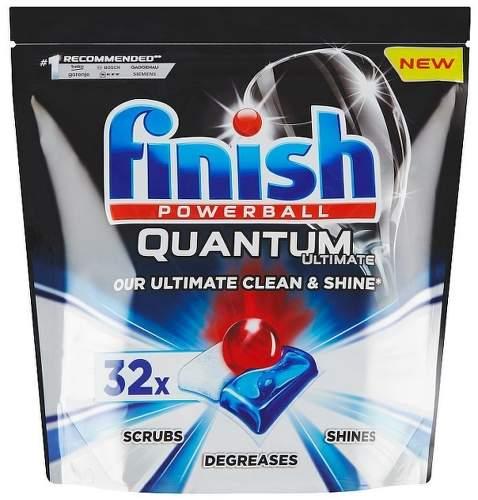 Finish Powerball Quantum Ultimate 32 ks tablety do umývačky