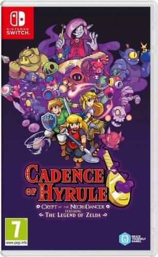 Cadence of Hyrule: Crypt of the NecroDancer - Nintendo Switch hra