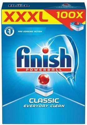 Finish Powerball Classic 100 ks tablety do umývačky