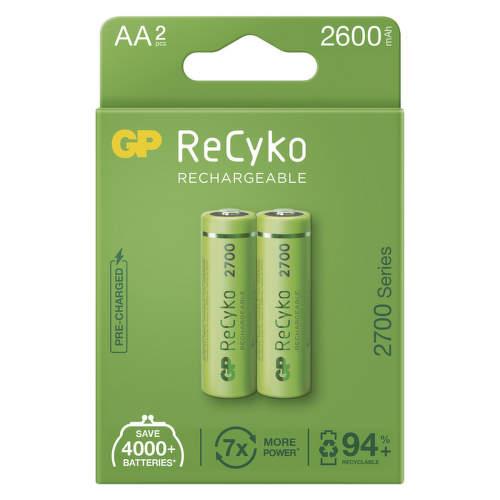 GP ReCyko HR06 (AA) 2600 mAh, 2 ks