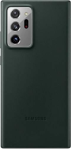 Samsung Leather Cover puzdro pre Samsung Galaxy Note20 Ultra 5G, zelená
