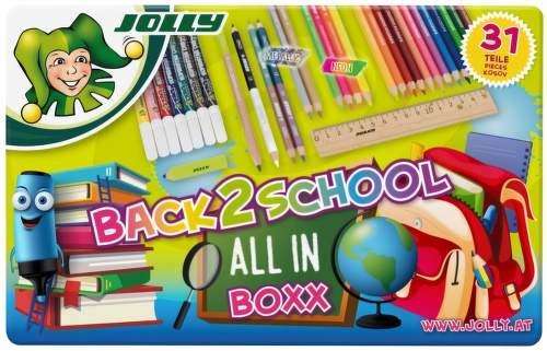 JOLLY BACK 2 SCHOOL, Set školských potrieb