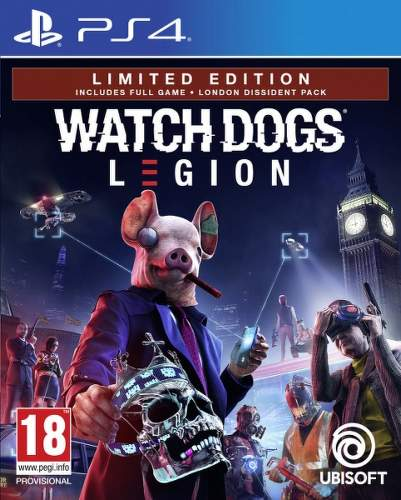 Watch Dogs Legion Limited Edition PS4 hra