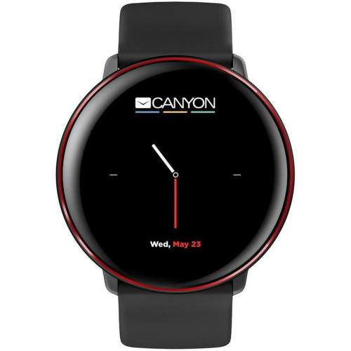 Canyon CNS-SW75BR Smart hodinky čierno-červená