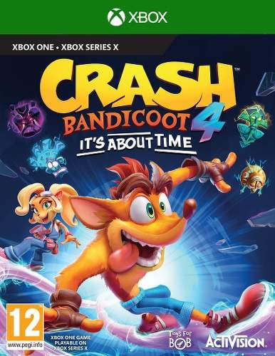 Crash Bandicoot 4: It's About Time - Xbox One/Series hra