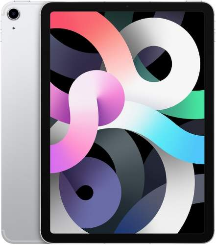 Apple iPad Air (2020) 64GB Wi-Fi + Cellular MYGX2FD/A strieborný