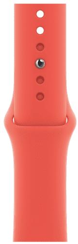 Apple Watch 44 mm športový remienok citrusovo ružový štandardný