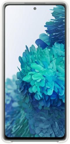Samsung silikónové puzdro pre Samsung Galaxy S20 FE biela