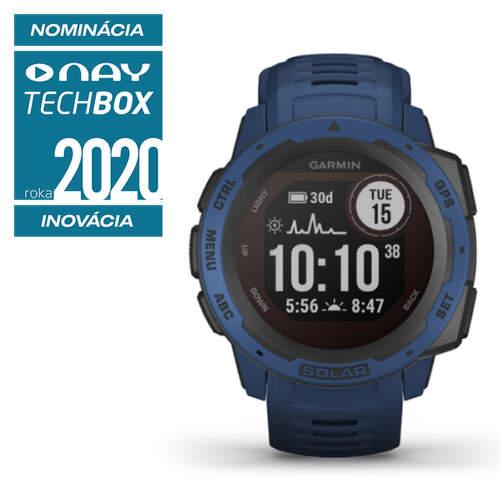 Garmin Instinct Solar smart hodinky modrá
