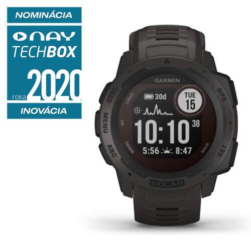 Garmin Instinct Solar smart hodinky graphite