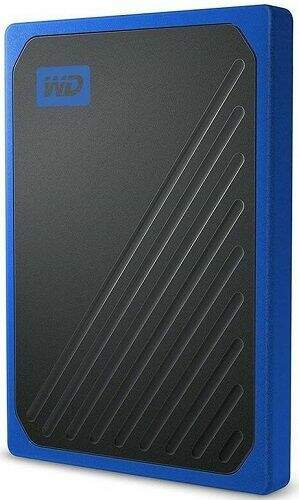 Sandisk My Passport Go SSD 2TB USB 3.0 modrý