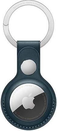 Apple AirTag kožená kľúčenka baltský modrá