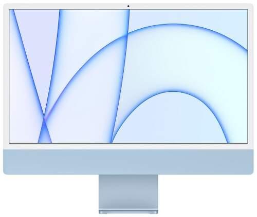 "Apple iMac 24"" (2021) 4,5K Retina M1 / 7-jadrové GPU / 8 GB / 256 GB MJV93SL/A modrý"