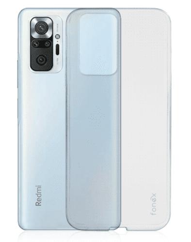 Fonex Invisible puzdro pre Xiaomi Redmi Note 10 Pro transparentná