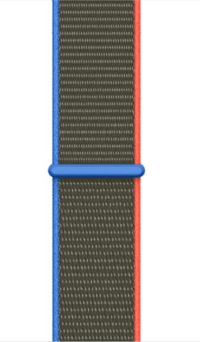 Apple Watch 44 mm Sport Loop športový remienok Olive