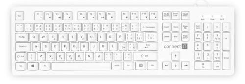 Connect IT CKB-2101-CS biela