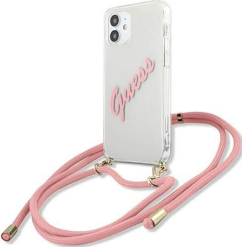 Guess ochranné puzdro pre Apple iPhone 12 mini ružová