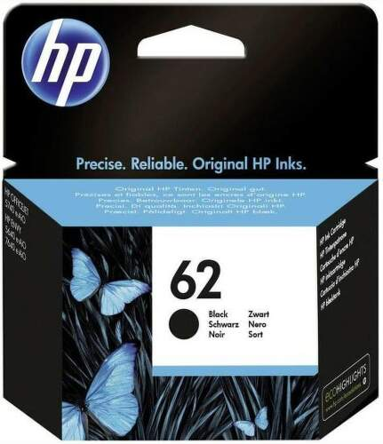 HP 62 Black C2P04AE čierny