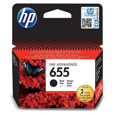 HP CZ109AE BLACK náplň No.655 Blister