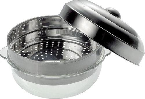 BOSCH HEZ86D000, SteamDish - nerez. hrniec pre varenie v pare v mikrov. rure